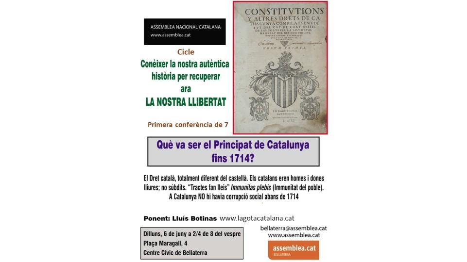cartell Bellatera 2016